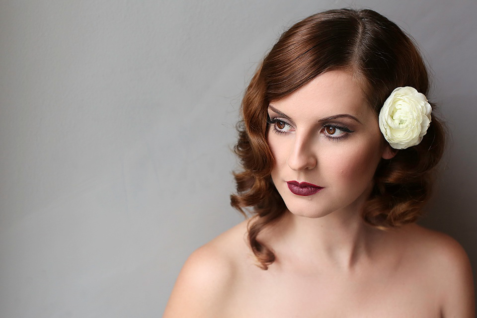 Beautiful and Elegant Bridal Hair & Make-Up From Kristina Gasperas And The K-Team