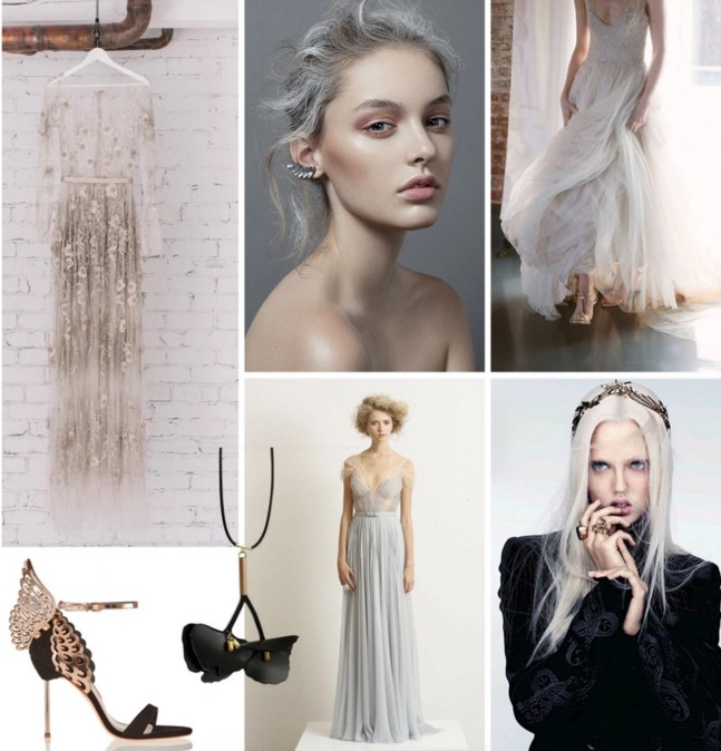 Bridal Inspiration Boards #86 ~ Light and Shade