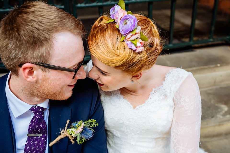 A Colourful and Quirky City Wedding