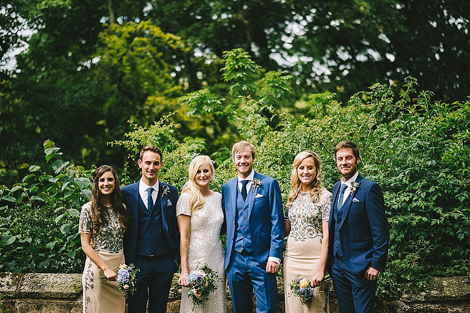 Eliza Jane Howell for an 'Effortless Glamour' Style Wedding at Brinkburn Abbey (Films Reviewed & Recommended Weddings )