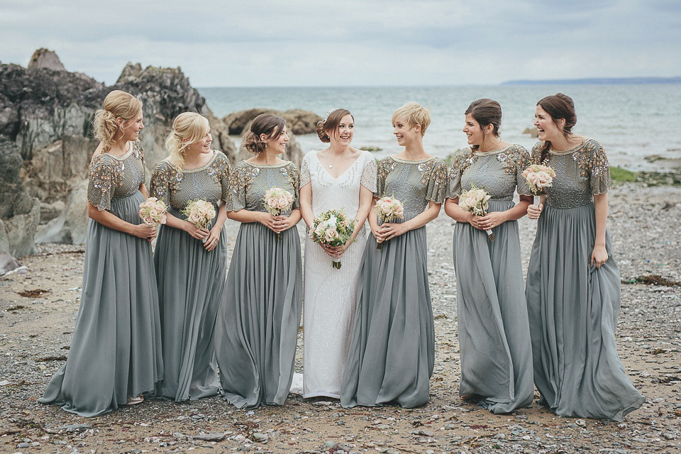 Eliza Jane Howell Glamour for a Cornish Wedding by the Sea
