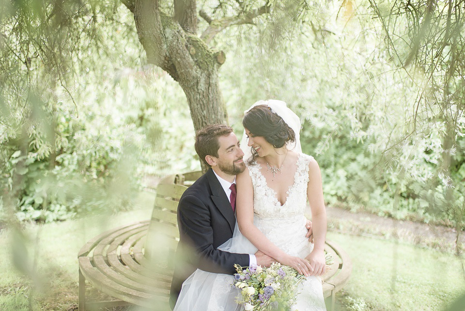 A Handmade and Rustic, French Garden Party Inspired Wedding