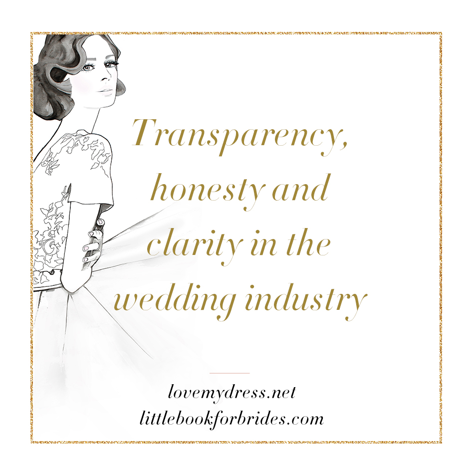 Transparency, Honesty & Clarity In The Wedding Industry – Things To Watch Out For When Planning A Wedding (Part II) (Let's Talk Wedding Talk )
