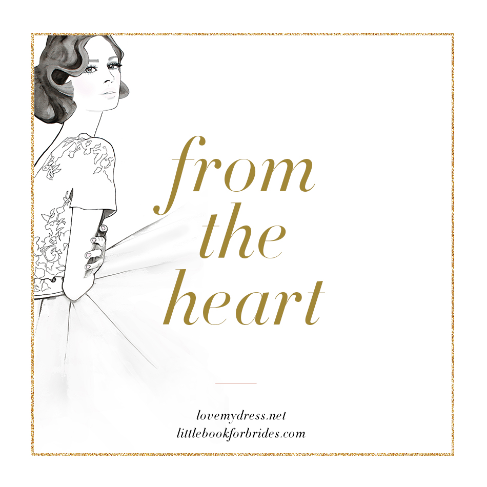 From the heart emotional abuse love my dress uk wedding blog from the heart a new and very personal kind of blog feature hexwebz Images