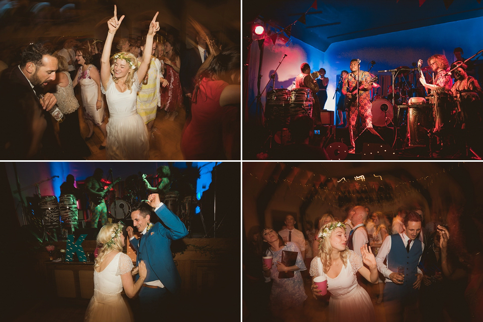 Grace Loves Lace for Colourful, Mexican Fiesta Inspired Village Hall Wedding (Weddings )