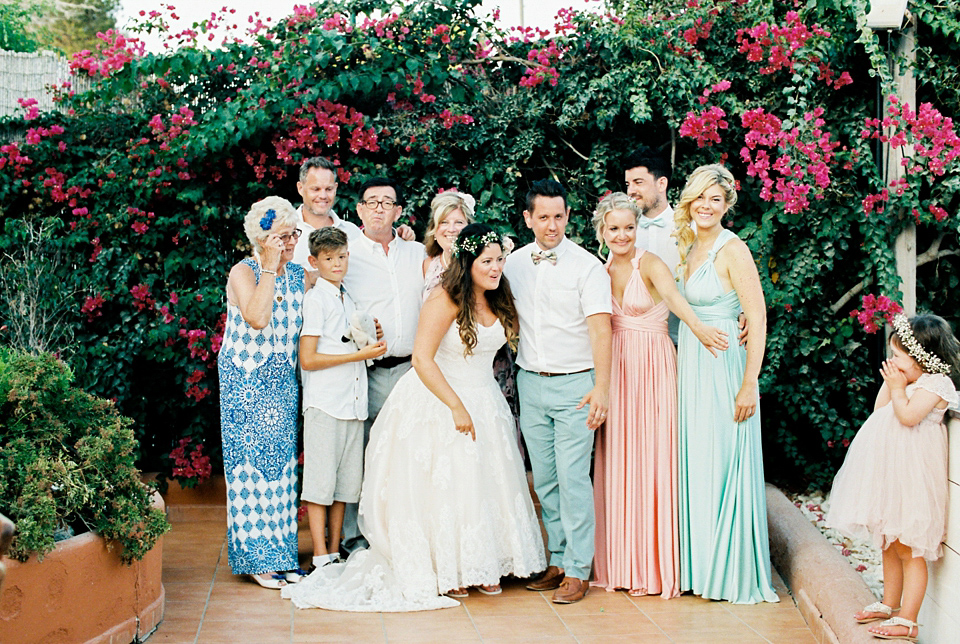 A Pastel Colour, Festival Inspired Wedding in Ibiza (Weddings )