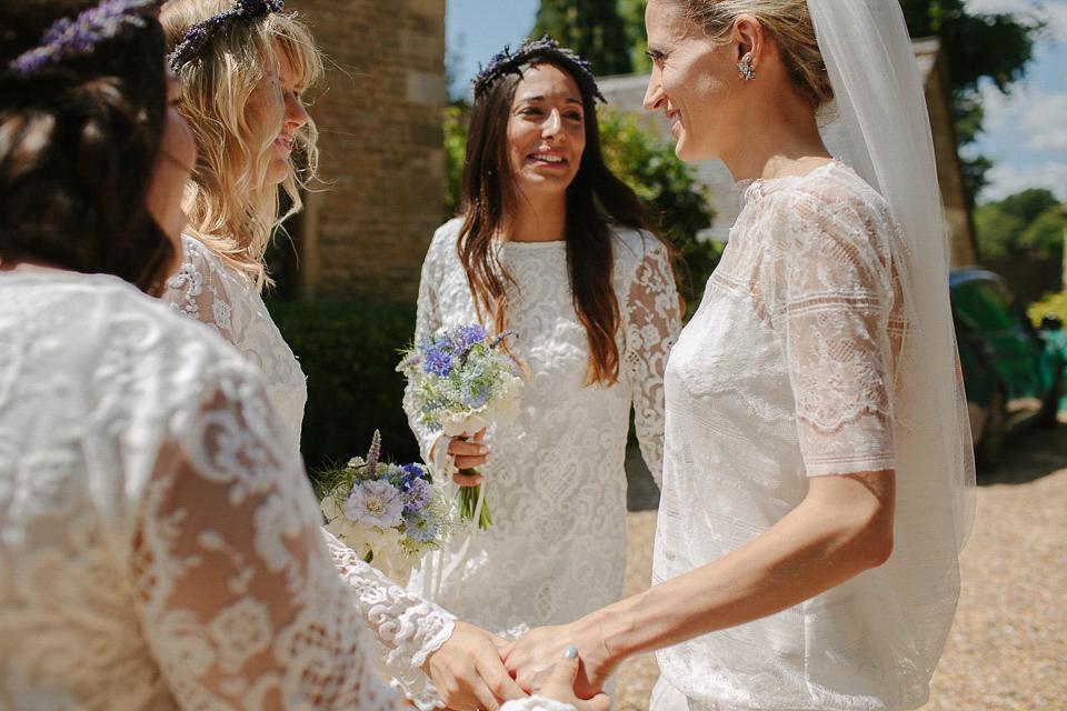 Dropped Waist Stephanie Allin Elegance for a Charming English Country Garden Wedding (Weddings )