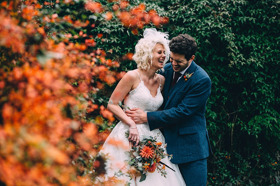 A Yorkshire Barn Wedding In The Brightest Shades Of Autumn