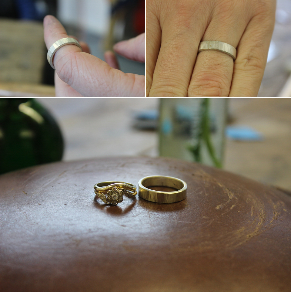 how to make your own wedding rings with the quarter workshop get inspired supplier spotlight - Make Your Own Wedding Ring