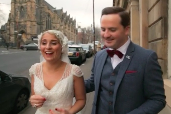 Lunch Time Wedding Films – Emma and Simon and their Elegant Glasgow Wedding