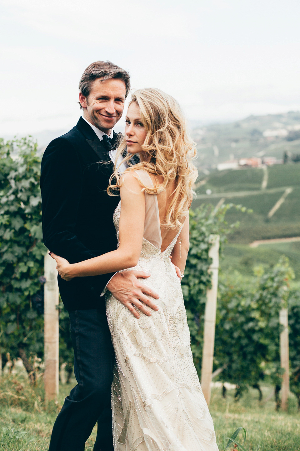 A Vanity Fair Inspired Fun and Glamorous Wedding in the Italian Countryside
