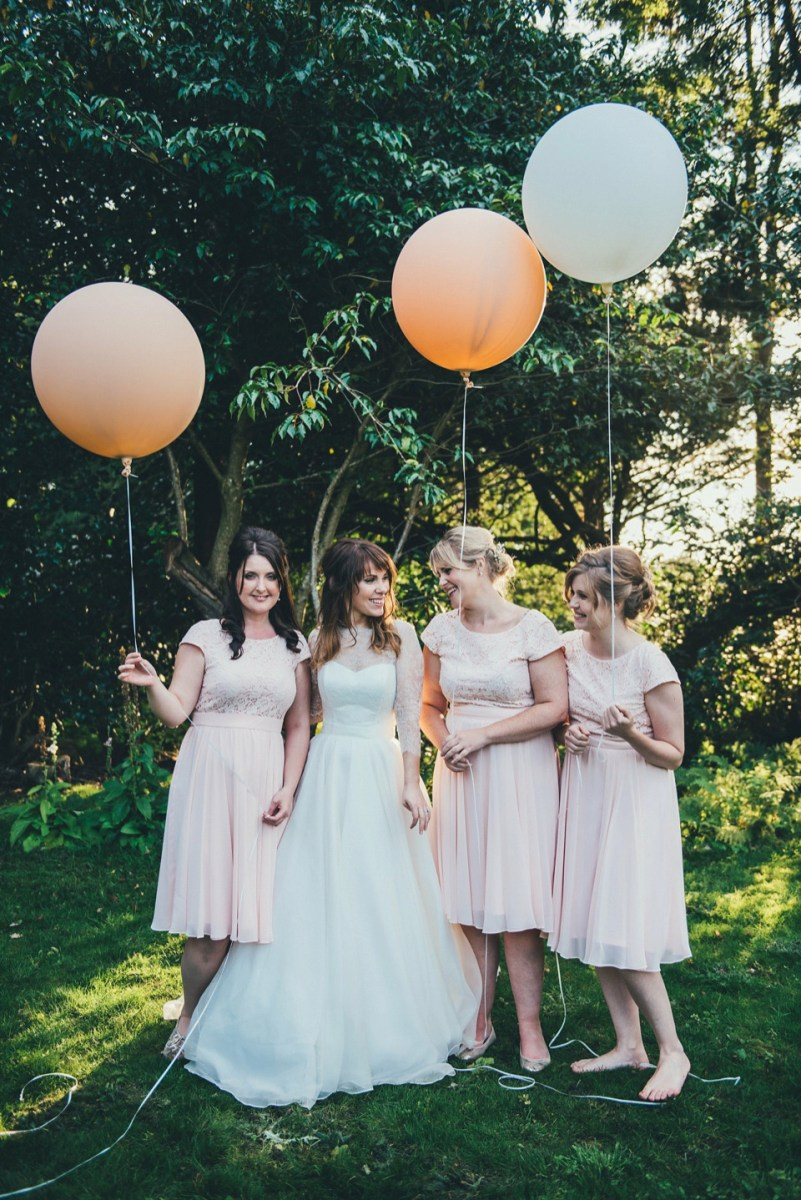 A Caroline Castigliano Dress For A Tipi Wedding In Shades Of Pastel Pink