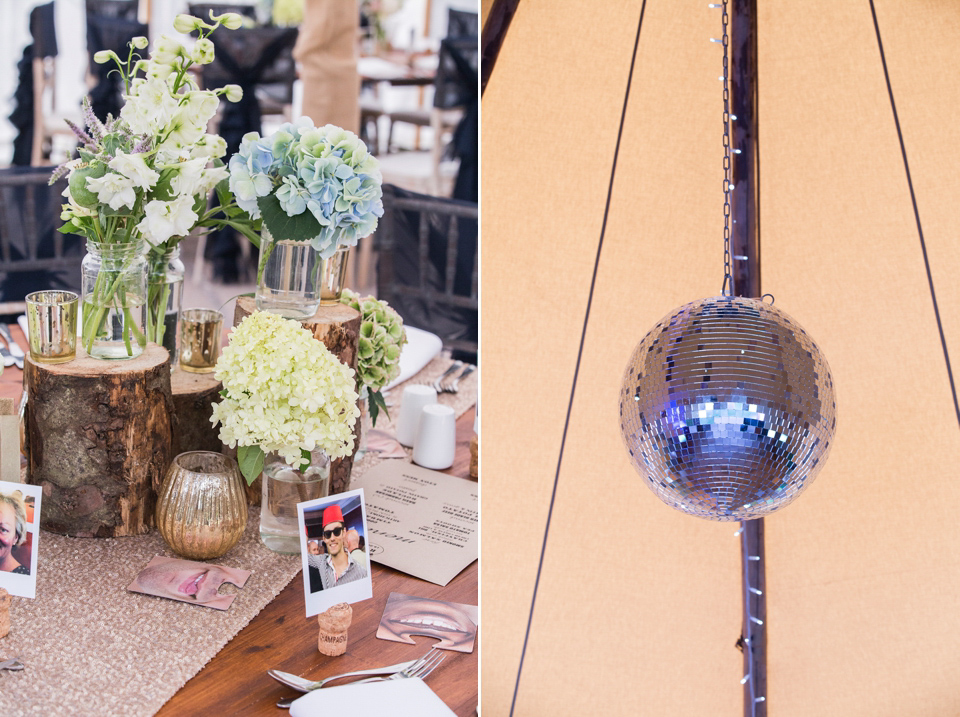 A Glamorous Maggie Sottero Gown and Tipis for a Festival-Inspired Wedding Weekend (Weddings )