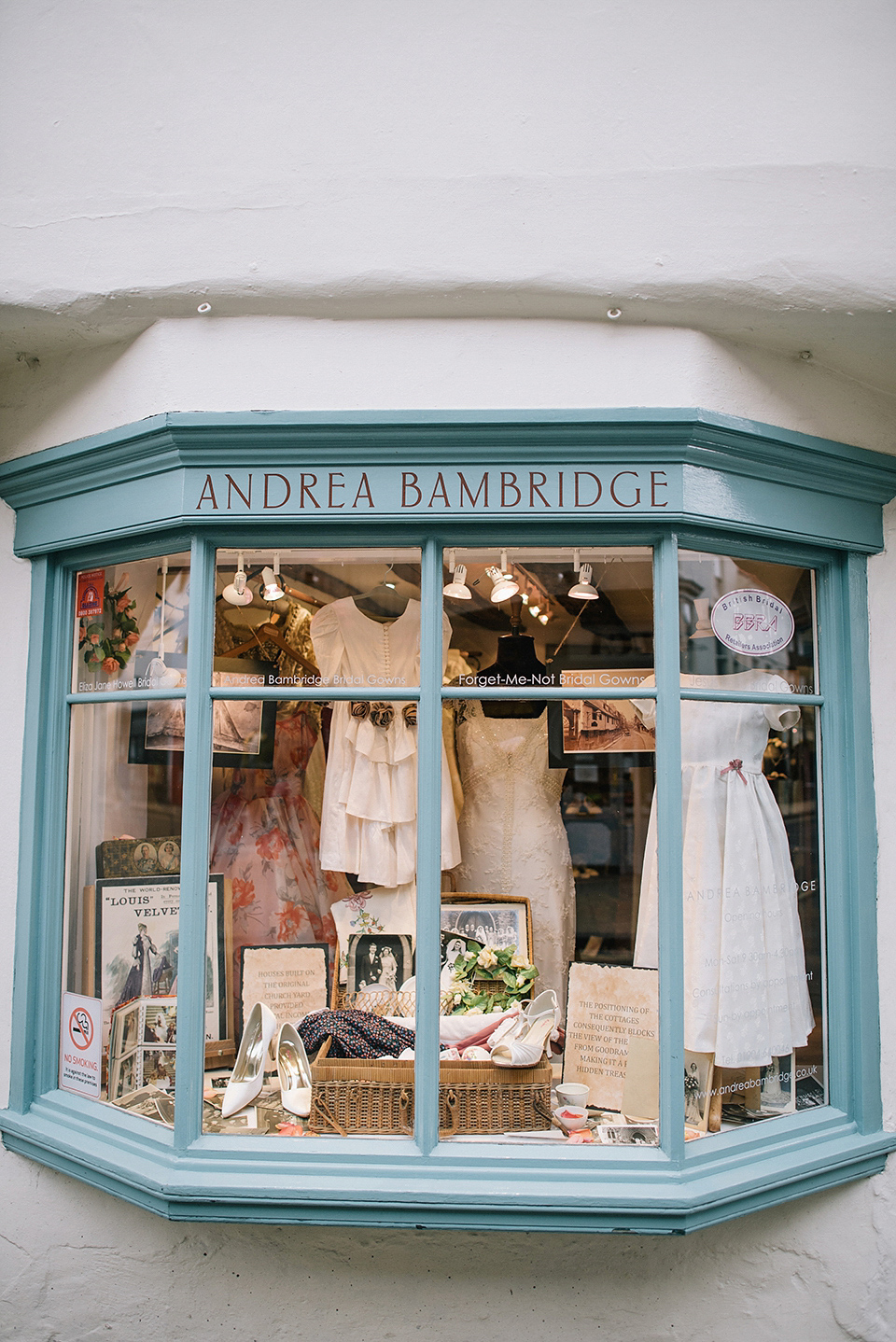 Andrea Bambridge Bridal Boutique of York – Celebrating 700 Years of 'Our Lady's Row'