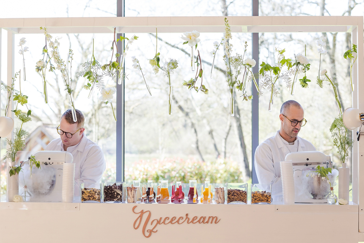 Kalm Kitchen's Donut Wall, Liquid Nitrogen Ice cream Bar and other Creative Catering Ideas (Get Inspired Styled Shoots Supplier Spotlight )