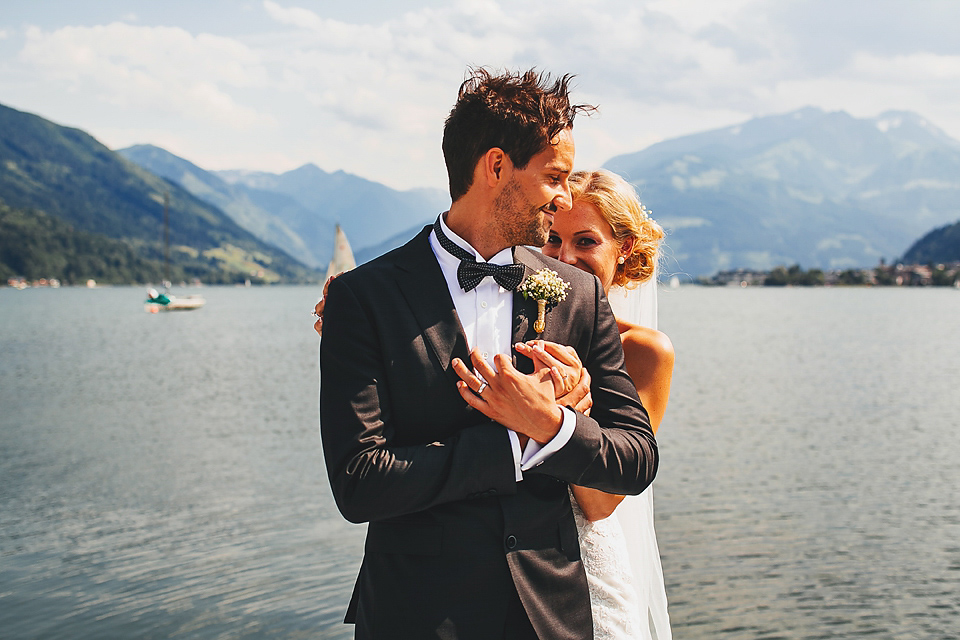 A Scenic Castle Wedding In The Austrian Mountains