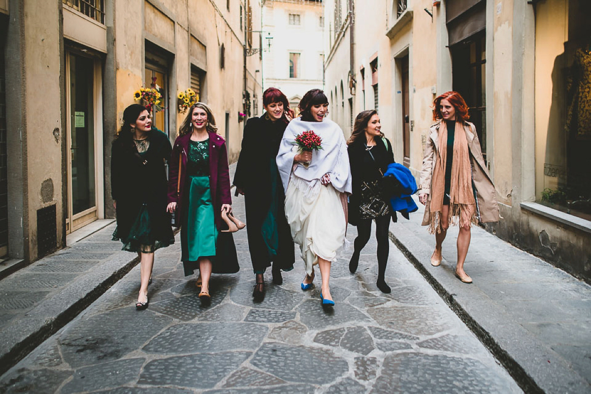 A Romantic Multicultural Wedding In Florence (Weddings )