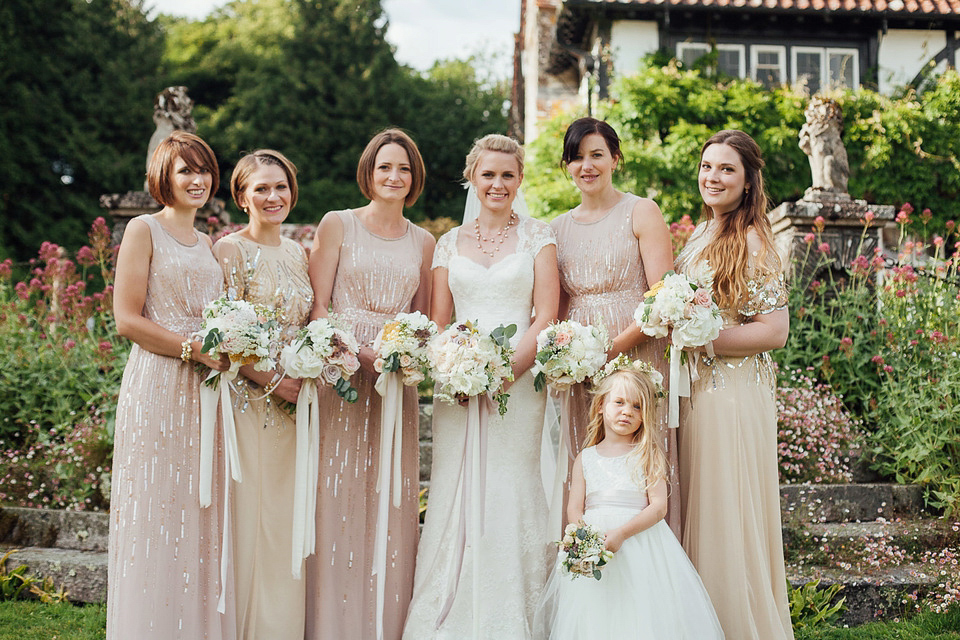A Suzanne Neville Gown for a Relaxed and Elegant Garden Wedding