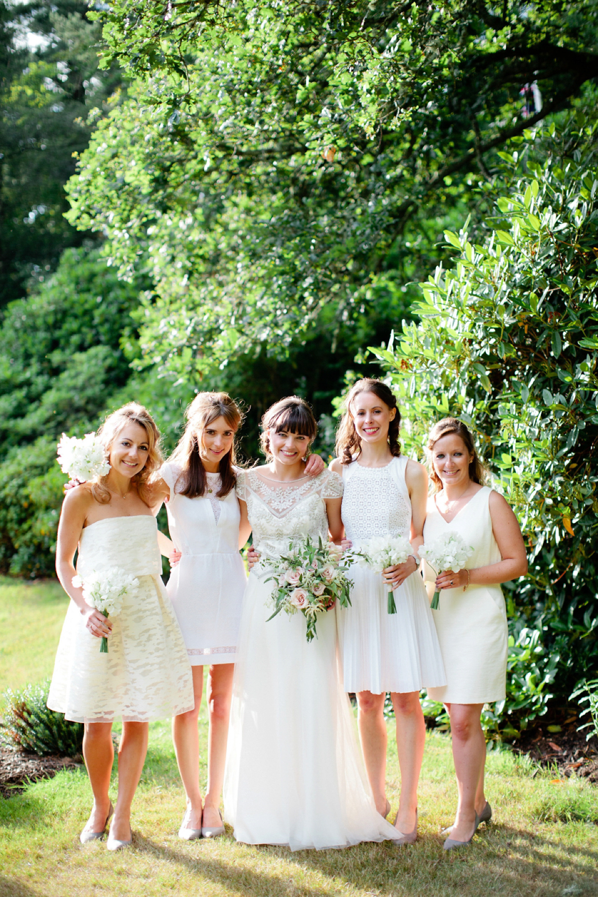 Halfpenny London Elegance for an English Country Garden Wedding at Home