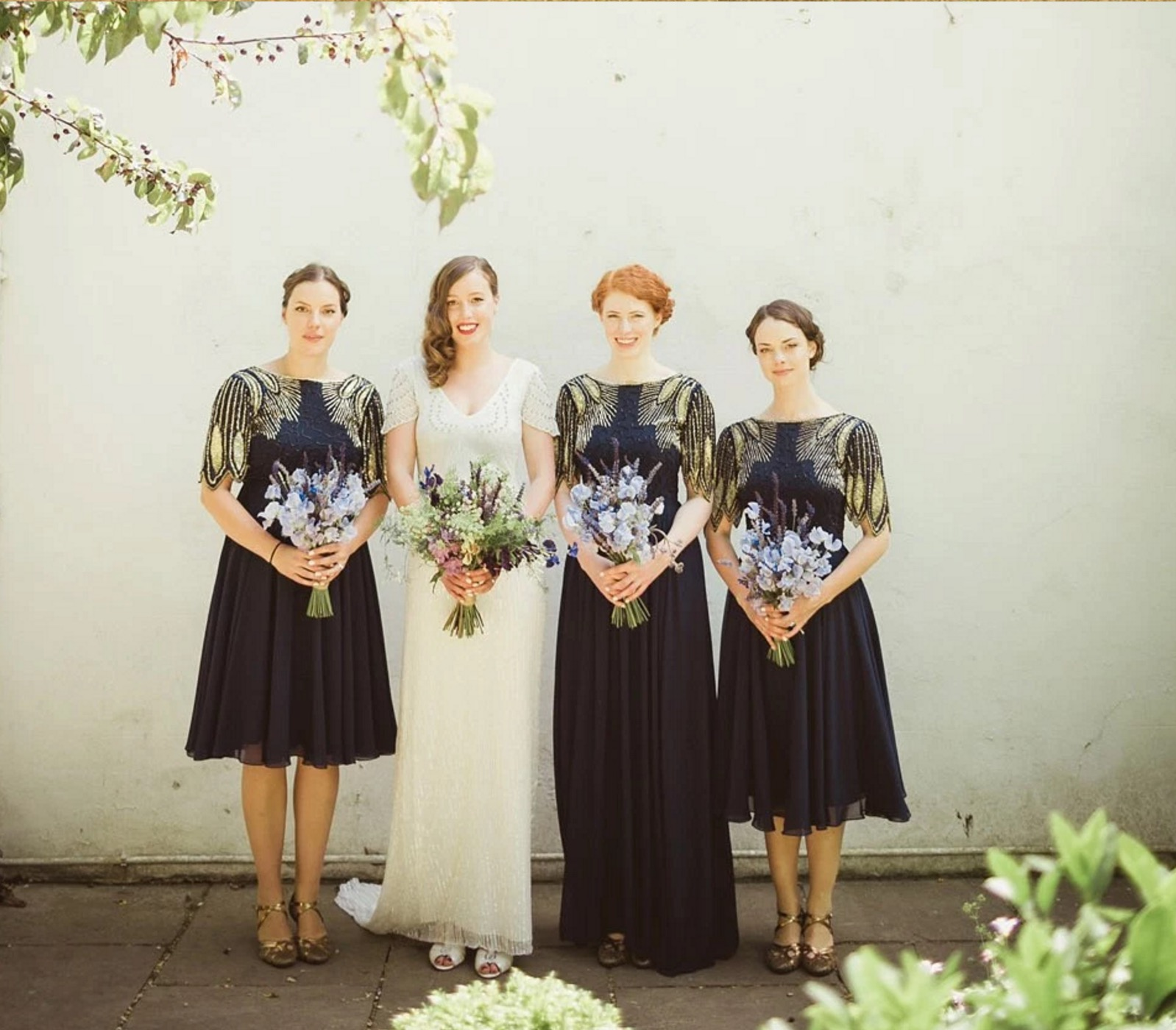 Eliza Jane Howell Elegance and Virgos Lounge Bridesmaids For A Whimsical Summer Wedding