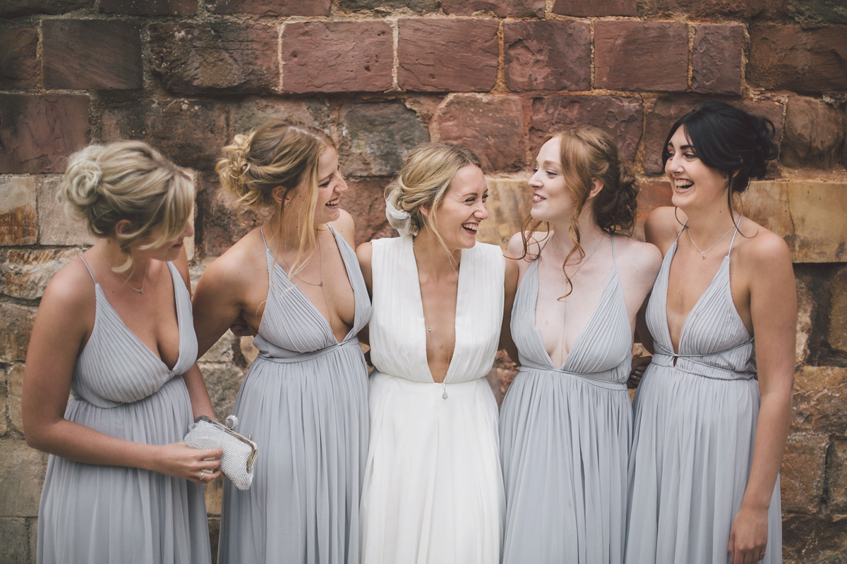 A Barefoot Bride and her Effortlessly Elegant and Natural Wedding at a Medieval Priory