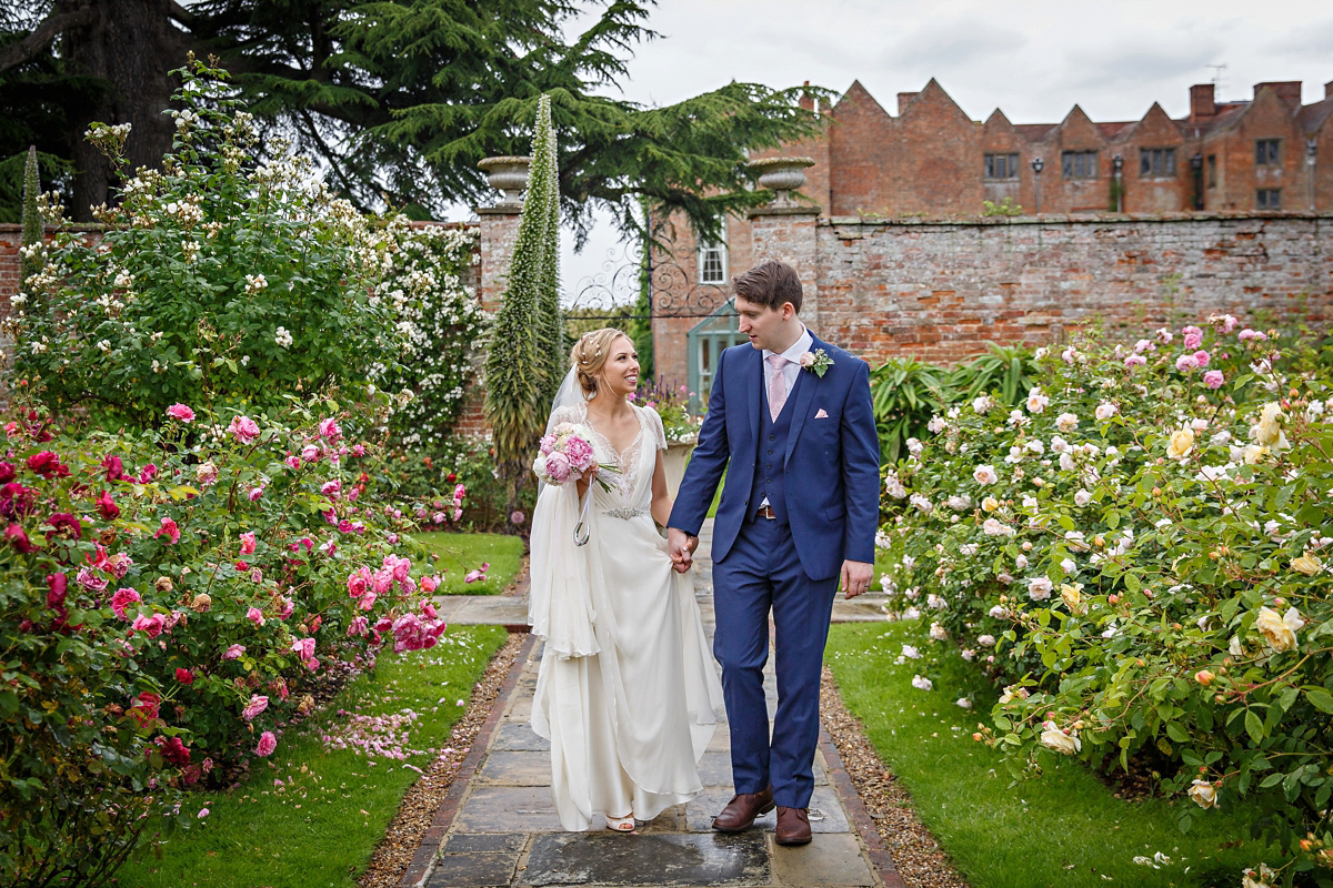 Jenny Packham Elegance and Pastel Blue for a Quintessentially English Country Wedding