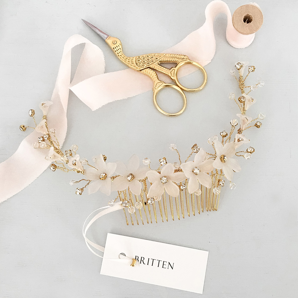 Finely Crafted Luxury Bridal Accessories From Britten + An Exclusive Boutique Discount Offer