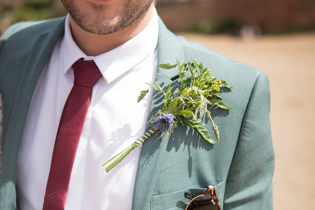 festival vibes for a magical woodland wedding in whitby