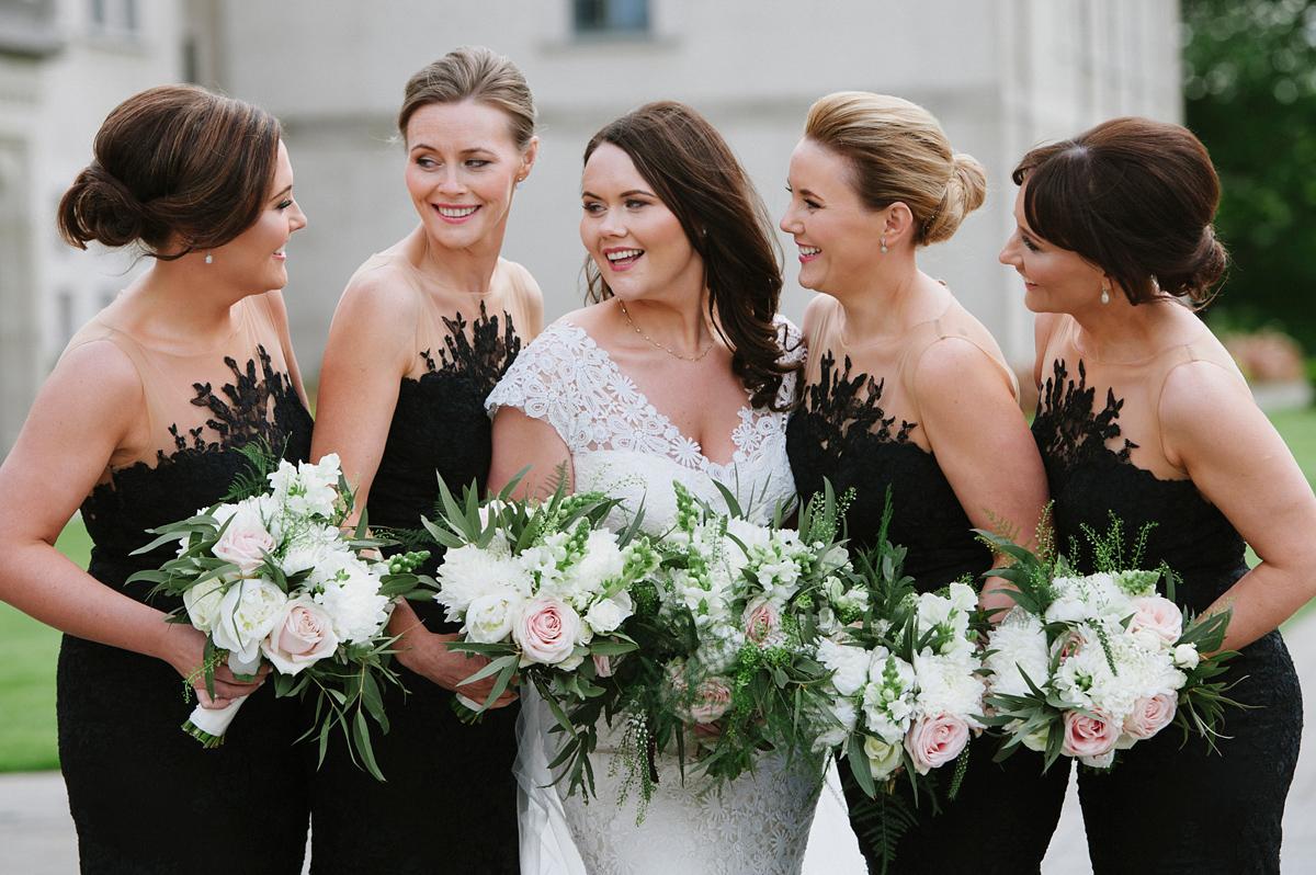 Peter Langner Elegance And Bridesmaids In Black