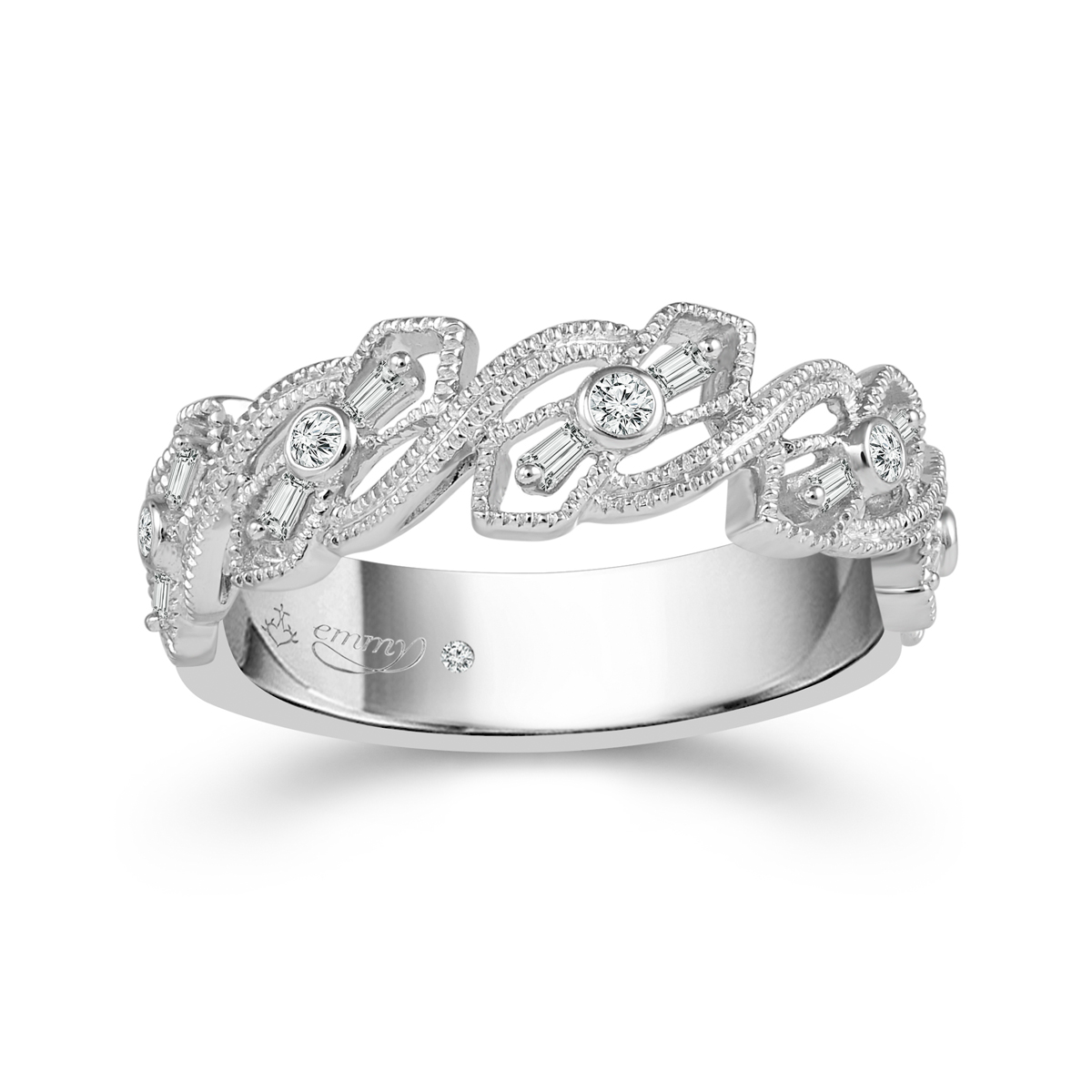 Art Deco Inspired Wedding Rings and Jewellery From Emmy London & H ...