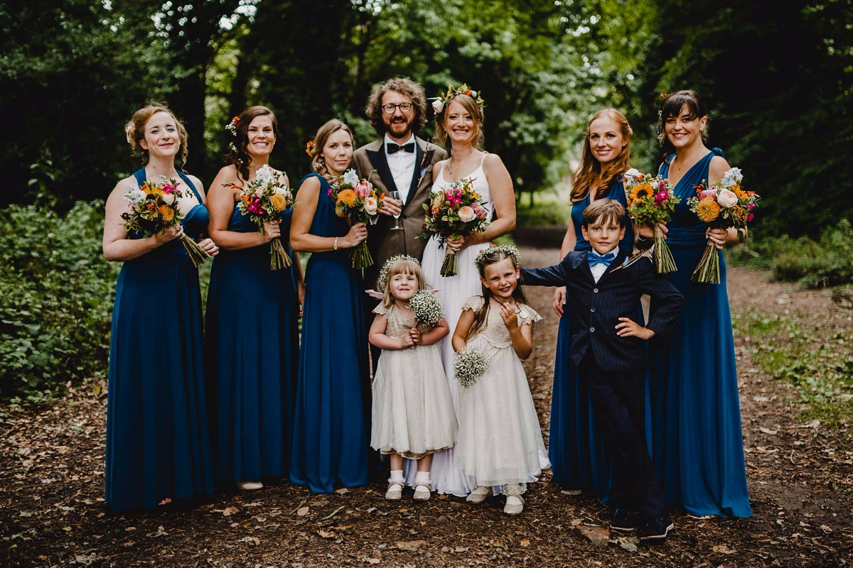 A Quirky, Fun and Colourful Country House Wedding