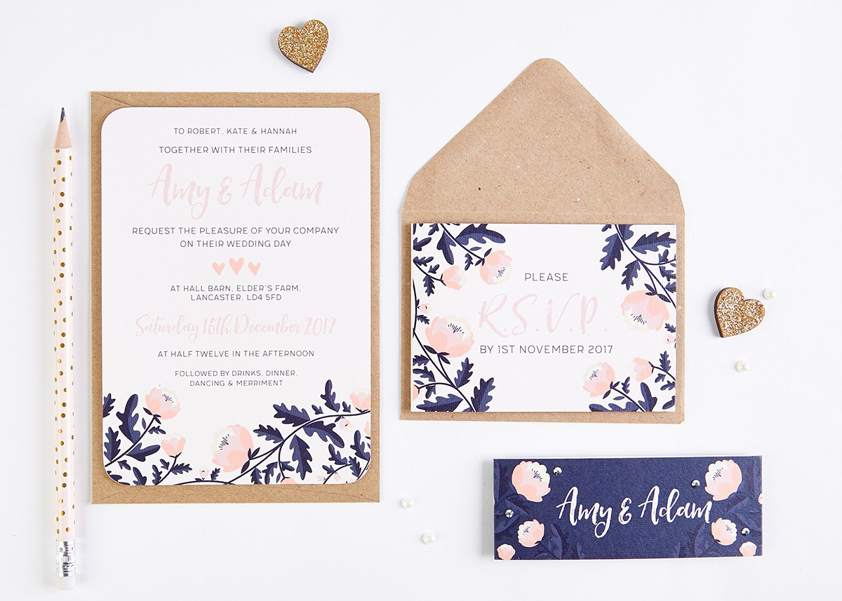 Win Your Wedding Invitations (Worth £500) From The Fabulous norma&dorothy