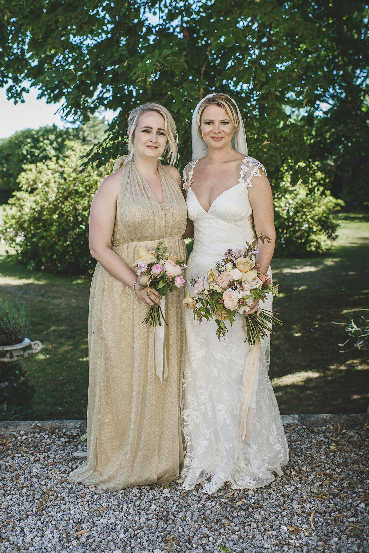 Claire Pettibone Butterflies for an English Country Garden meets French Boho Chic Wedding (Weddings )