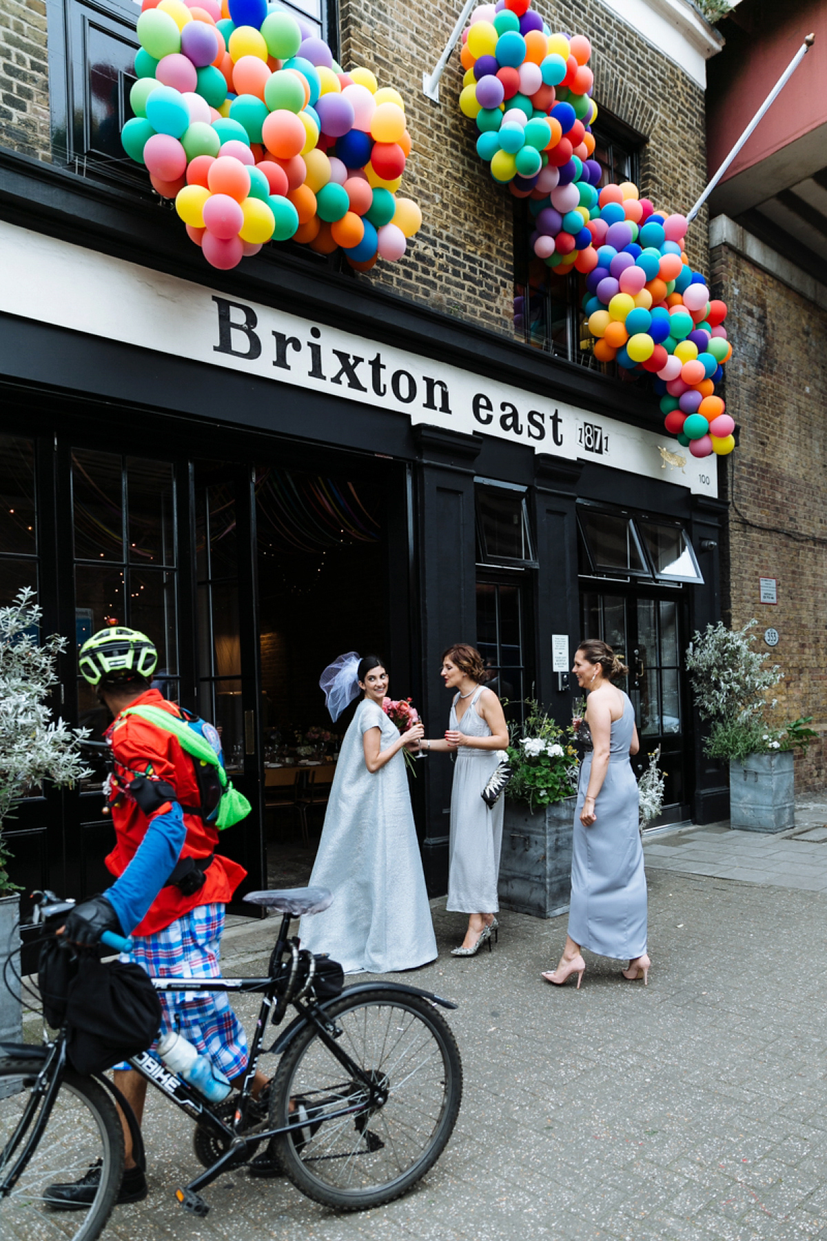 An Emilia Wickstead Gown for a Cool and Colourful, Party Inspired Wedding