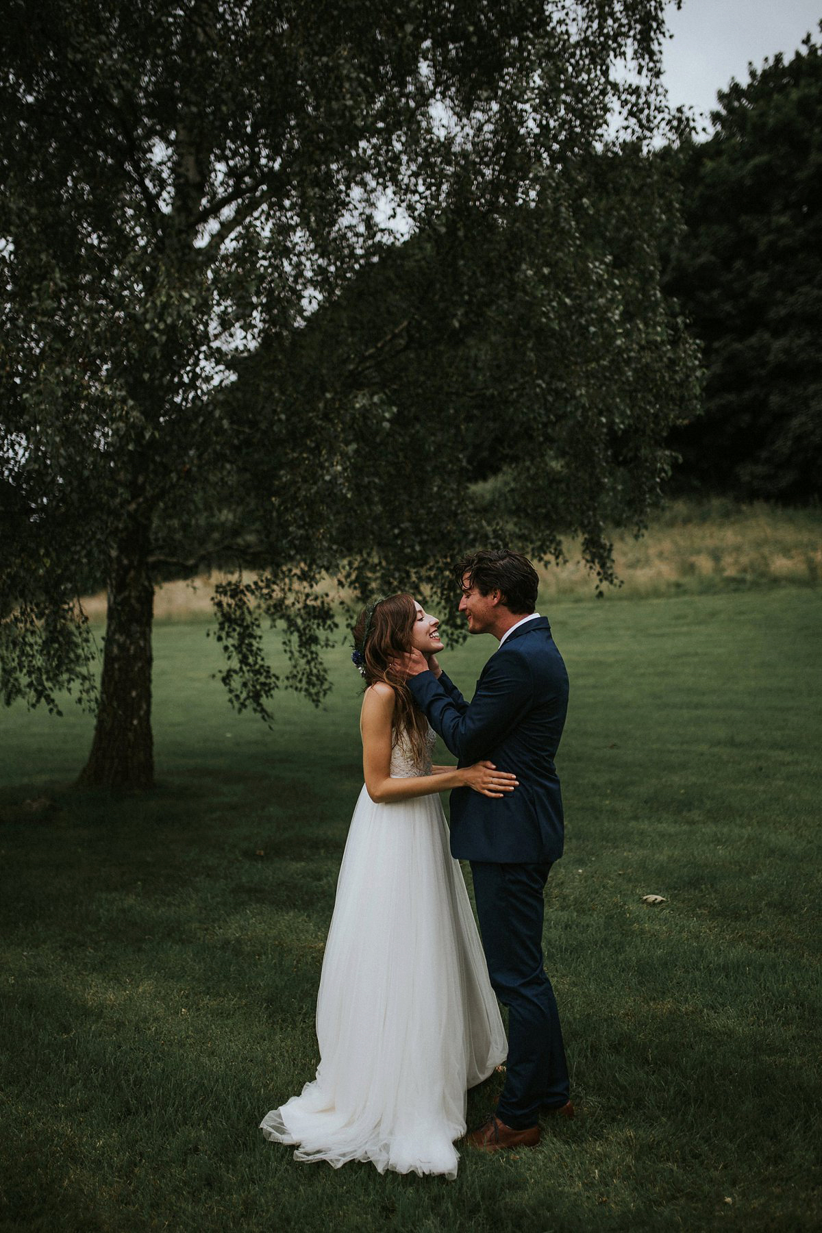 A Free People Designer and her Colourful, Natural and Organic Somerset Wedding