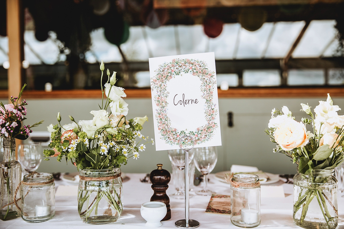 Bluebell by Temperley London for an Elegant and Colourful Autumn Barn Wedding (Weddings )