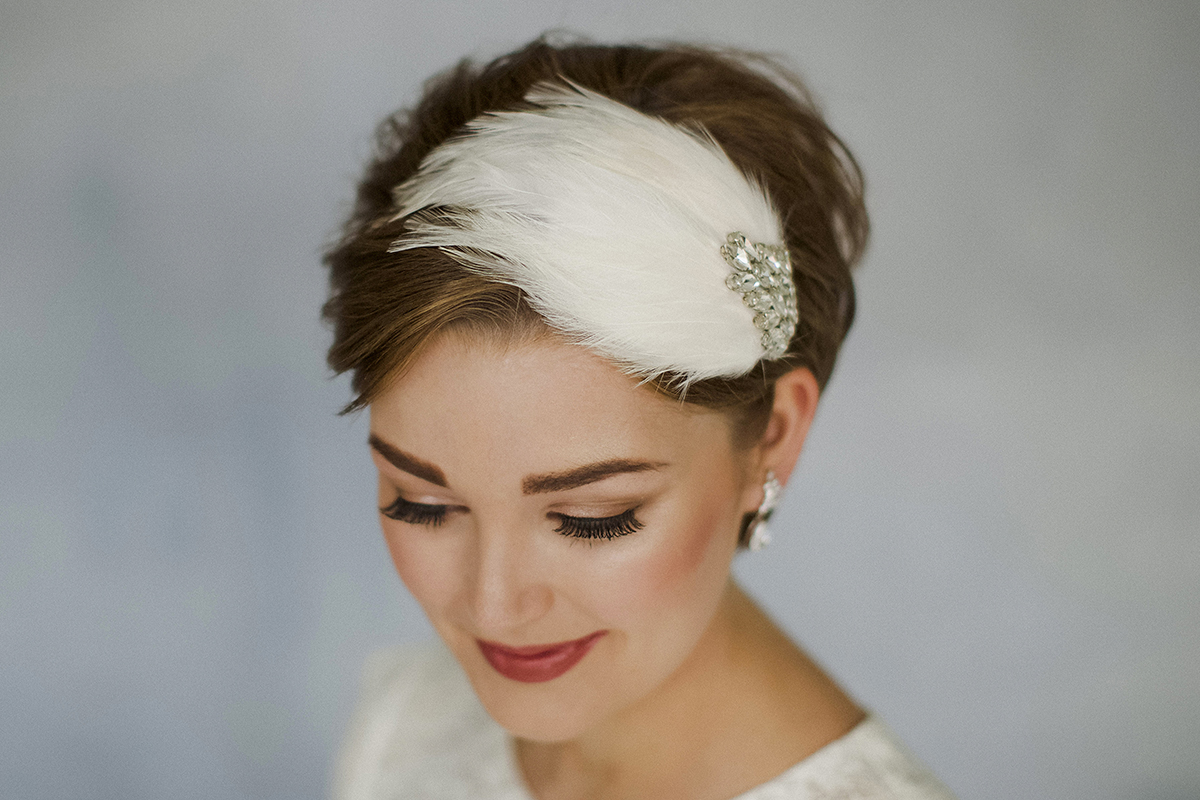 How to style wedding hair accessories with short hair love my how to style wedding hair accessories with short hair by debbie carlisle bridal fashion junglespirit Image collections