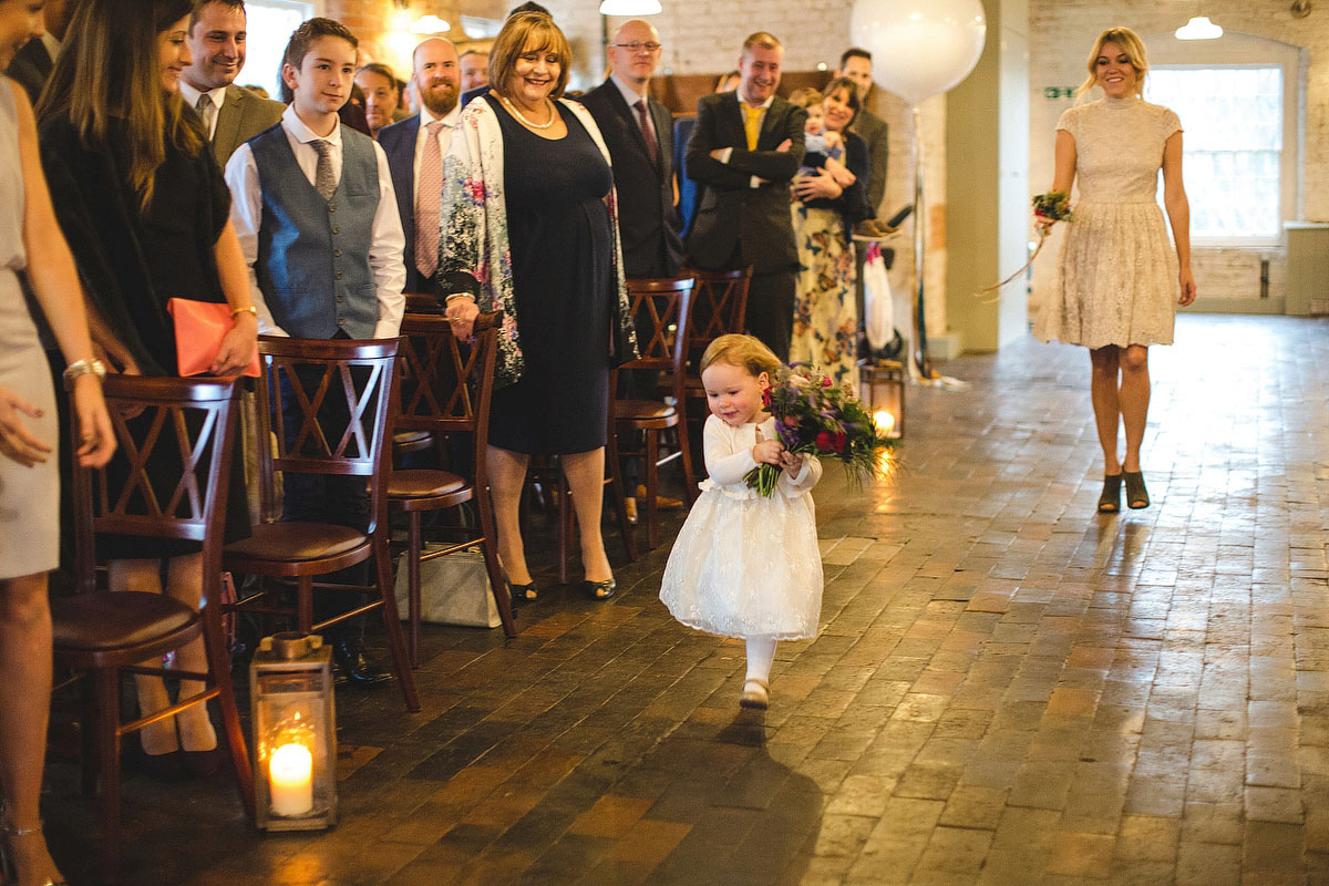 Kate Beaumont Lace for a Colourful, Relaxed and Lovely Family Wedding (Weddings )