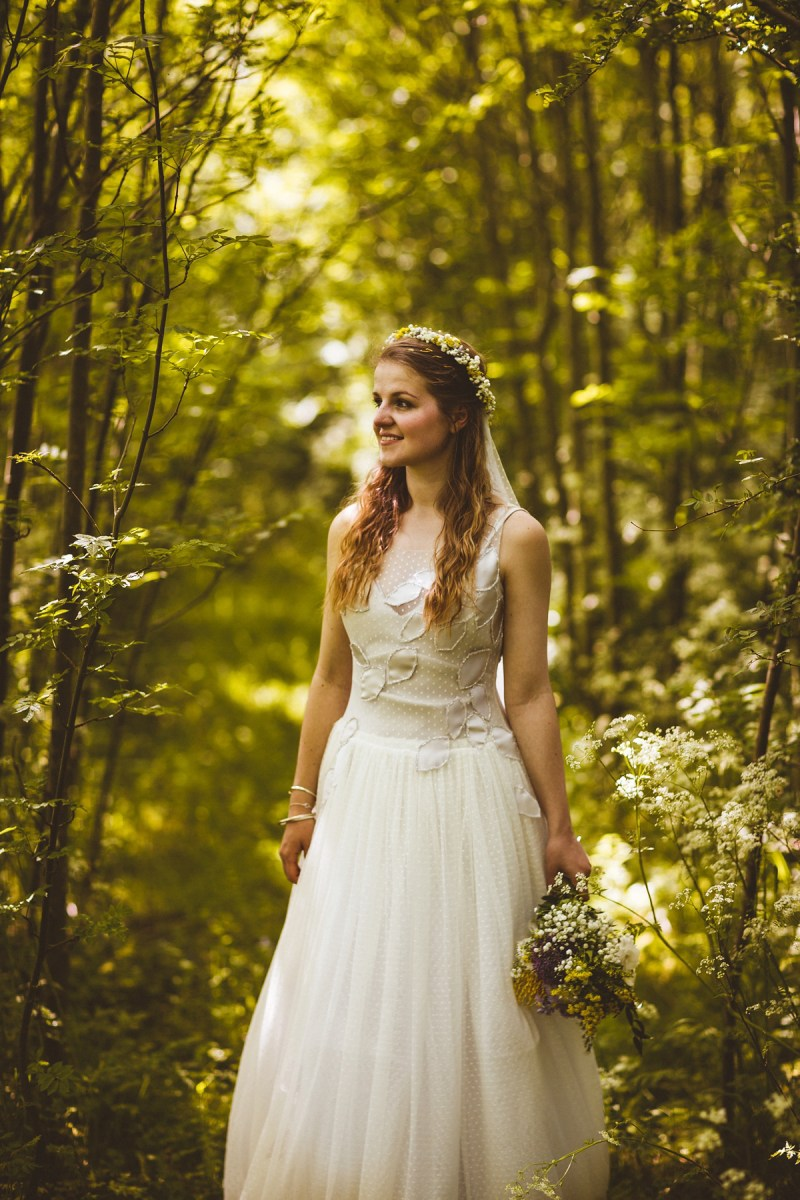 A Handmade and Lovely, Nature Inspired Wedding