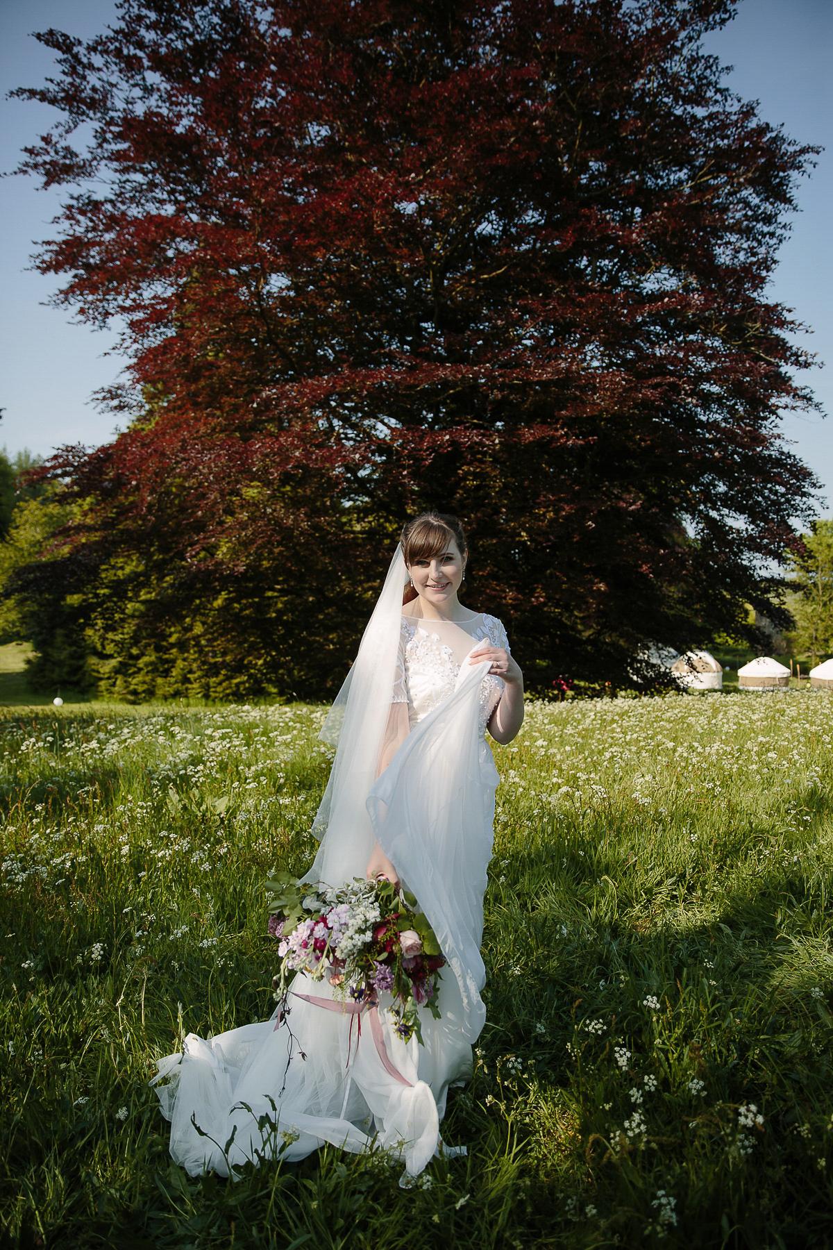 A Temperley London Dress For A Flower Filled Summer Wedding