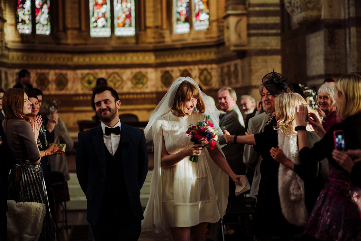A Valentino Dress for a Stylish and Unconventional London Wedding (Weddings )