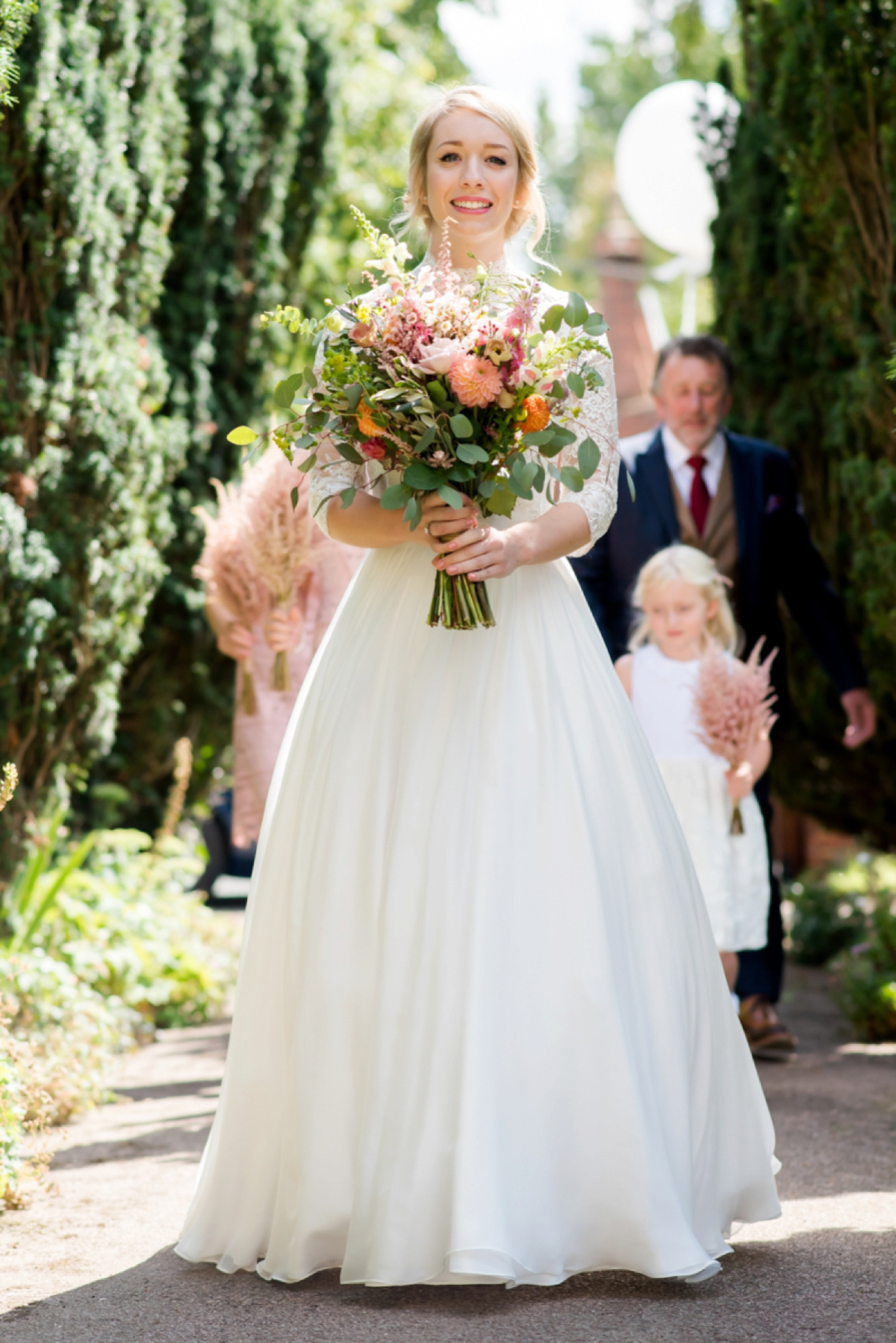 A Naomi Neoh Gown for a Whimsical Wedding in a Yurt (Weddings )