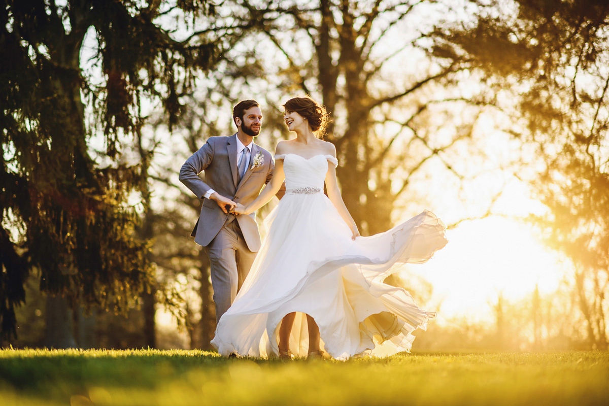 An Elegant Outdoor Countryside Wedding for a Love My Dress Blogging Bride