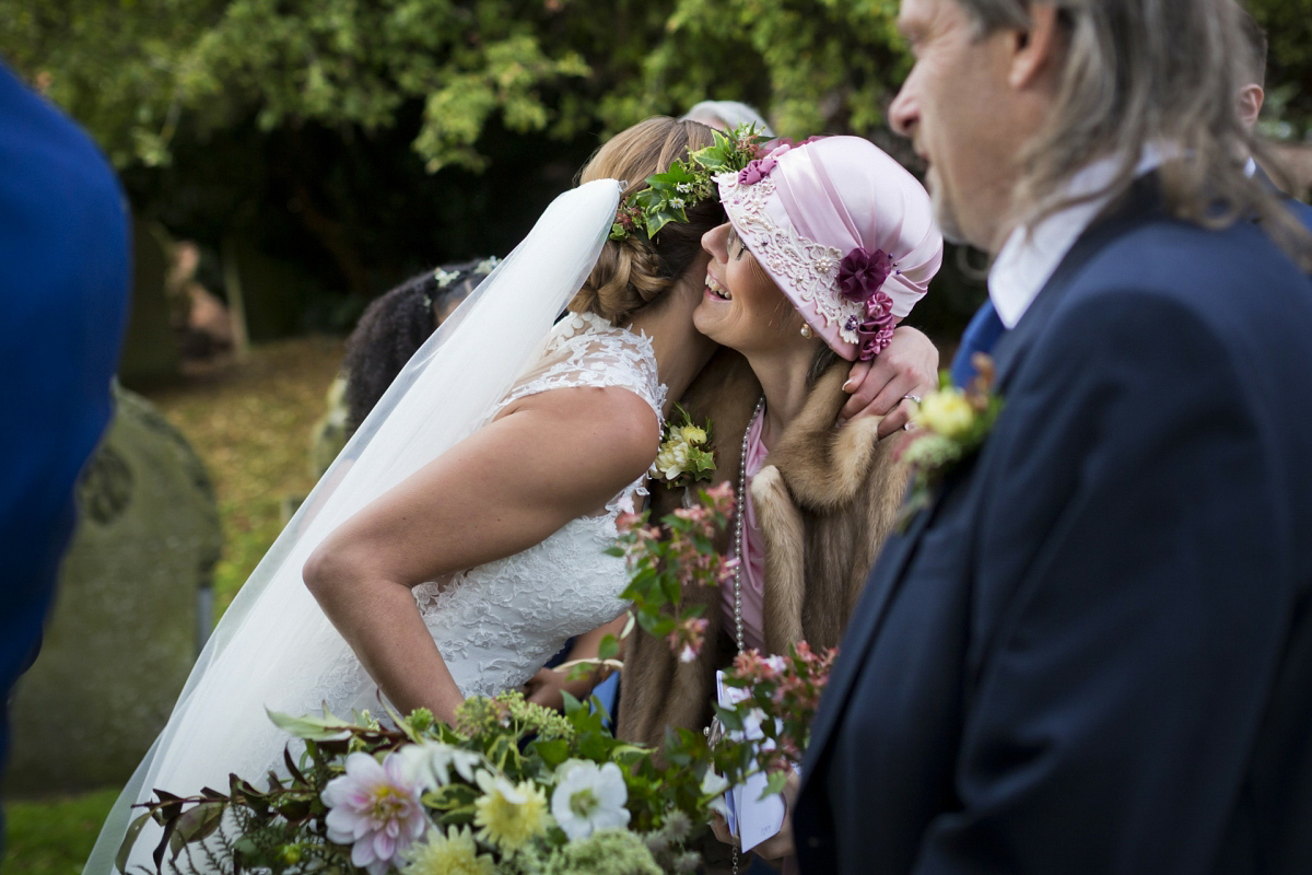 An Ivy Flower Crown For A Mythical Woodland Inspired Wedding (Weddings )