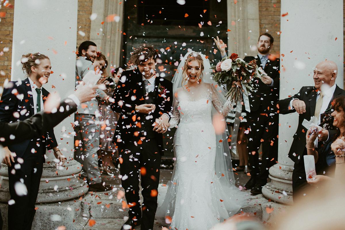 A Stylish Rock\'n\'Roll Wedding At The Asylum in London | Love My ...