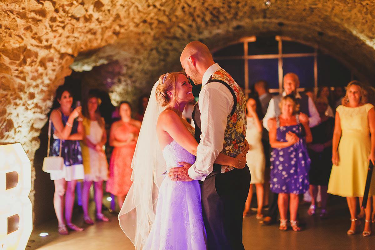 A Rustic Spanish Castle Wedding (Weddings )