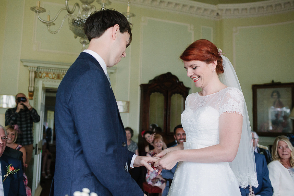 A Handmade, Colourful and Vintage Inspired Village Hall Wedding (Weddings )