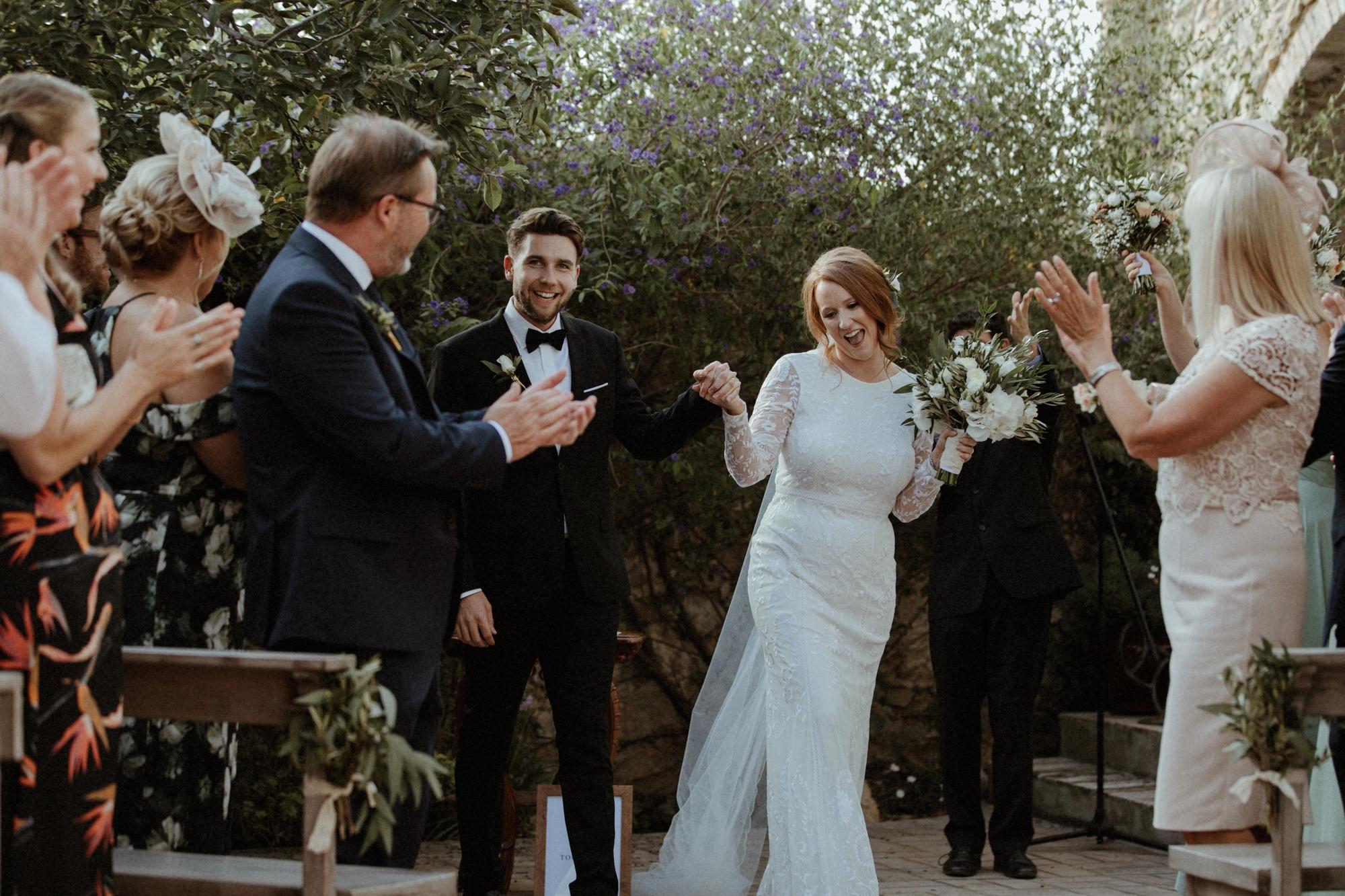 A Savannah Miller Dress for a Spanish Olive Grove Inspired Wedding ...
