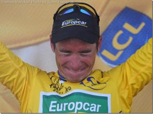 Voeckler yellow by Europcar