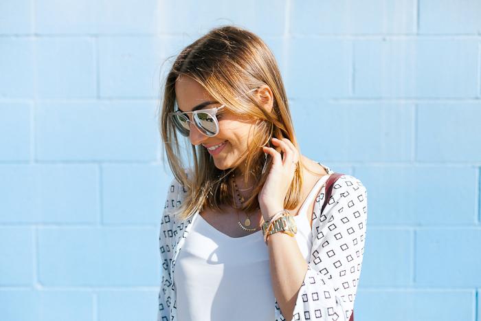 sole society reflective sunglasses